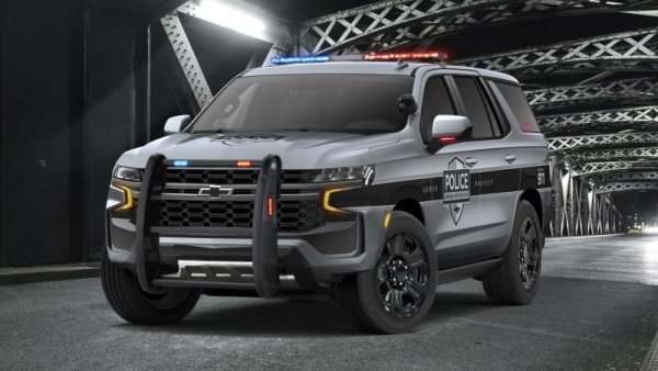 警匪追逐战也难不倒,CHEVROLET推出2021 Tahoe两款警用车型
